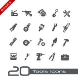 Tools Icons -- Basics Royalty Free Stock Image