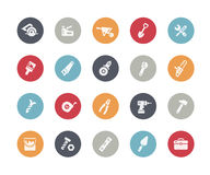 Tools Icons // Classics. Vector icons for your web or printing projects Stock Photo