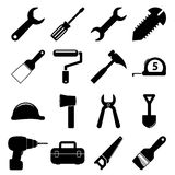 Tools icons Royalty Free Stock Images