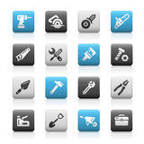 Tools Icons, Matte Series Royalty Free Stock Photography