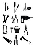 Tools Icons Set Stock Photo