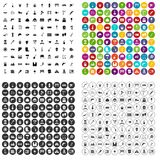 100 tools icons set vector variant. 100 tools icons set vector in 4 variant for any web design isolated on white Stock Photo