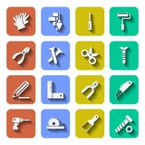 Tools Icons With Shadows Vol 2 Stock Image