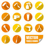 Tools icons Stock Image
