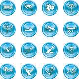 Tools and industry icon set Royalty Free Stock Photography