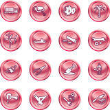 Tools and industry icon set Royalty Free Stock Images