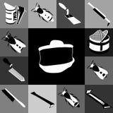 Tools infocraphics-2 Royalty Free Stock Photo