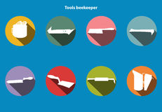 Tools infocraphics-4 Royalty Free Stock Image