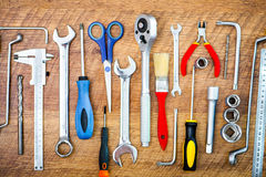 Tools and instruments Royalty Free Stock Image