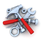 Tools isolated Stock Photos