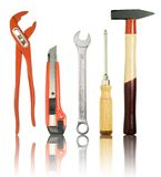 Tools isolated Royalty Free Stock Photo