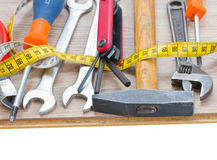 Tools kit Royalty Free Stock Photo