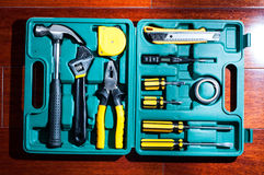 Tools kit Royalty Free Stock Images