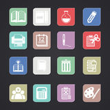 Tools learning  icon Stock Image