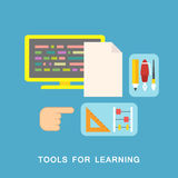 Tools for learning Stock Image