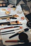 Tools makeup artist stock photos