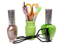Tools for manicure Stock Images