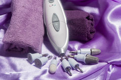 Tools  for manicure Royalty Free Stock Photo