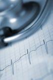 Tools of medical diagnostics stock image