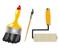 Tools for paint and drawing Royalty Free Stock Photos