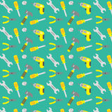 Tools pattern Royalty Free Stock Images