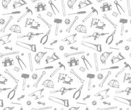 Tools pattern Royalty Free Stock Image