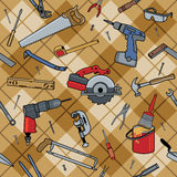 Tools Plaid Stock Images