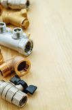 Tools plumbing Royalty Free Stock Photo
