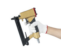 Tools Pneumatic nailers Royalty Free Stock Images