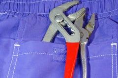 Tools pocket Stock Photos