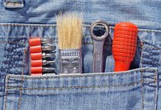 Tools and pocket Stock Images
