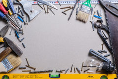 Tools and renovation Stock Images