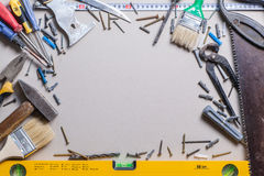Tools and renovation Royalty Free Stock Images