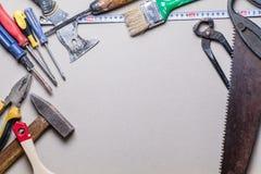 Tools and renovation Royalty Free Stock Image