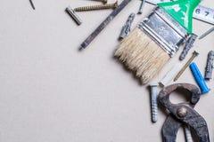 Tools and renovation Royalty Free Stock Photo