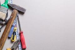Tools and renovation Stock Image