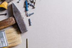 Tools and renovation Royalty Free Stock Photos