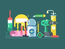 Tools for repair Royalty Free Stock Photography