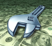 Tools repair costs technical help service rates hi Stock Images