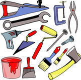 Tools for repair Royalty Free Stock Images