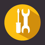 Tools repair support icon design Royalty Free Stock Photography