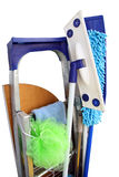Tools for rooms cleaning Stock Image