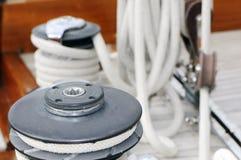 Tools of a sailboat stock photos