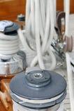 Tools of a sailboat royalty free stock image