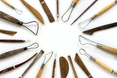 Tools sculpture Stock Photo