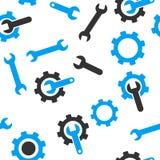 Tools Seamless Flat Vector Pattern Royalty Free Stock Photos