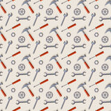 Tools seamless pattern. Royalty Free Stock Image