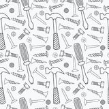Tools seamless pattern Royalty Free Stock Images
