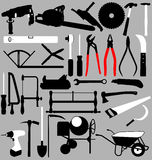 Tools set Royalty Free Stock Image