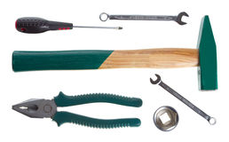 Tools set Stock Image
